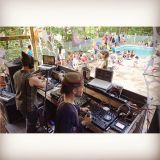 A-live pool side mix at Valhalla Sound Circus 2O15