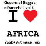YaaDBrit Queens of Reggae n Dancehall