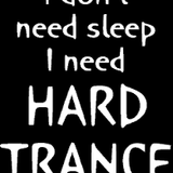 hard trance hard style .