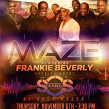 Maze feat Frankie Beverly & S.O.S Band - Live in Rochester, NY 11/6/14 Promo Mix