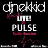 """DJ Nekkid """"Almost Live"""" on Pulse Radio (Nov. 2012)"""