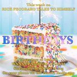 """Rick Pecoraro Talks to Himself #18 """"Birthdays"""" - 10/13/2016"""