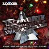 [FREE MIX] Technikorkie Xmas Hardcore 2014 - mixed by DJ Technikore & presented by MC Korkie
