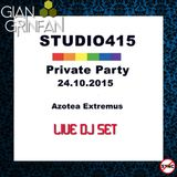 Studio415 Private Party Live Set October 24 2015