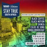 Black Coffee - Boiler Room & Ballantine's Stay True South Africa DJ Set - 05 March 2015
