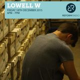 Lowell W with Sessions of March 18th December 2015