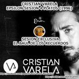 Cristian Varela Epsilon sesión a 4 Platos (1996)