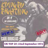 UK TOP 20 SINGLES 22nd September 1974 (REMIX EDIT)