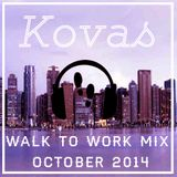 Walk to Work mix - October 2014