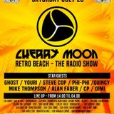 Cherry Moon Rétro Summer The Radio Show DJ Youri Parker 23-07-2016