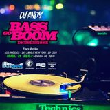 BASS GO BOOM July 8th 2019 hosted by DJ ANDY @BASSDRIVE.COM