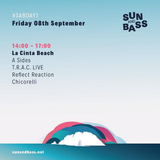 Reflect Reaction @ Sun and Bass,  La Cinta Beach, San Teodoro, 8-9-17