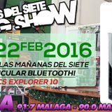 2016_02_22 - Las Mañanas Del Siete - Programa112 (Entrevista ELECTRITEL)