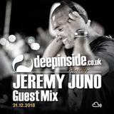 JEREMY JUNO is on DEEPINSIDE