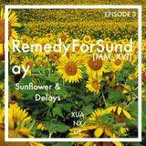 RemedyForSunday_Episode 3: Sunflower & Delays (06.MMXVI)