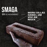 Manu Villas - Live Set at Smaga - 03.11.2017