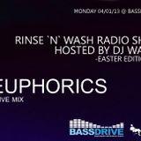 Euphorics exclusive mix (Wadjit`s Rinse `n` Wash show on Bassdrive.com)