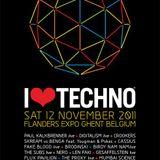 Jakwob - Live @ I Love Techno, Belgium (12-11-2011)