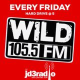 HARD DRIVE @ 5 ON WILD 1055 2/21/2020 JD3RADIO IN THE MIX