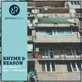 Rhyme & Reason 8th April 2017