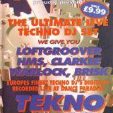 Dance Paradise Tekno Time Vol.1 - Brisk / Warlock