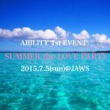 ABILITY MIX ABILITY代表Tatuya、DJ Pi-ya