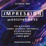 Luca Doobie @ Koszykowa 55, Warsaw, March 2017, Pt 01