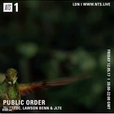 Public Order w/ ESTOC, JLTE & Lawson Benn - 12th May 2017