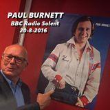 Paul Burnett - Radio Solent - 20-8-2016