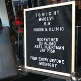 Boofather & Dj Alimo 09.06.18 - House@Club Holvi - Helsinki, Finland