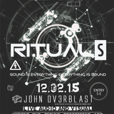 Live Audiovisual Performance @ Rituals Amsterdam @Dub Champions Festival 12/2/15