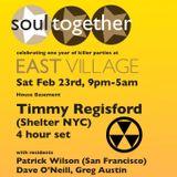 Patrick Wilson Guest Mix - Soultogether for East Village, 19.2.13