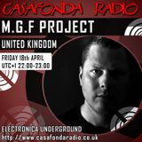 M.G.F PROJECT // UNITED KINGDOM // NEARDUSK SHOWCASE 18/04/2014 22:00