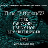 Edvard Hunger - Time Differences 273 (30th July 2017) on TM-Radio