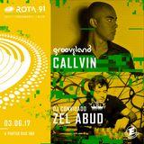 Rota 91 - 03/06/2017 - Djs convidados Zel Abud (Royal Soul Records) e Callvin (Grooveland)