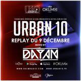 Podcast : OKLMix DJ Dayan Urban 10 Du 09/12
