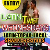 DJ UNIIQUE LATIN TWIST WED LIVE FROM SHARP SHOOTERS SEPT 10TH TECH-LIIFE