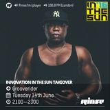 Grooverider - Rinse FM (Innovation In The Sun Warm Up)