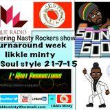 Turnaround show 21-7-15 on unique radio ina soul style