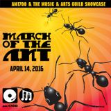 The Music & Arts Guild Showcase, Episode 002 :: March Of The Ant :: 14 APR 2016