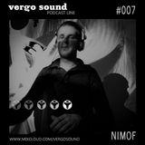 Vergo Sound Podcast #007 by NimoF / Lviv