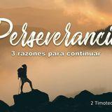 Perseverancia: 3 razones para continuar