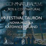 ROS (Addiction Rec) & Con*Natural Live @ #9 FESTIVAL TAURON NOWA MUZYKA, KATOWICE, POLAND  2014