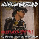 Malice In Wasteland - Cyborg Life Drawing sessions - Halloween 2018