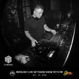 Mixology Live Set Radio Show/107.5FM Yeah-DjCUBERO