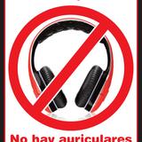 NO HEADPHONES 3