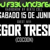 Can You Feel Underground Radioshow #95 by Bertu Coll. Guest Mix GREGOR TRESHER (15 Junio 2019)