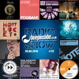 DEEPINSIDE RADIO SHOW 117 (Eric Kupper Artist of the week)