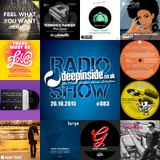 DEEPINSIDE RADIO SHOW 083 (David Morales Artist of the week)