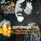 Cosmic Disco Radioshow - SEPTEMBER 2015